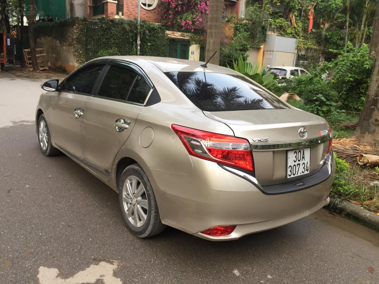 Chính chủ tôi cần bán chiếc Toyota Vios E 2014, số sàn màu cát vàng, ai có nhu cầu LH 0989793315 (5)