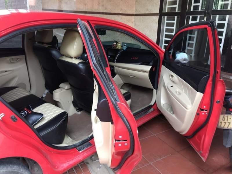 Cần bán Toyota Vios năm 2015, màu đỏ, xe nhập, giá tốt (6)
