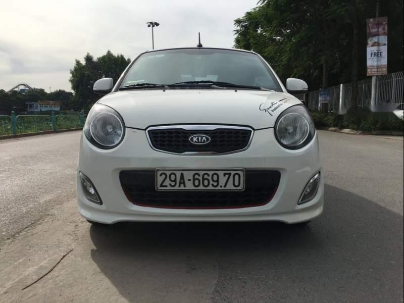 Bán Kia Morning Sport số sàn, màu trắng, nội thất nguyên bản theo xe như mới (1)
