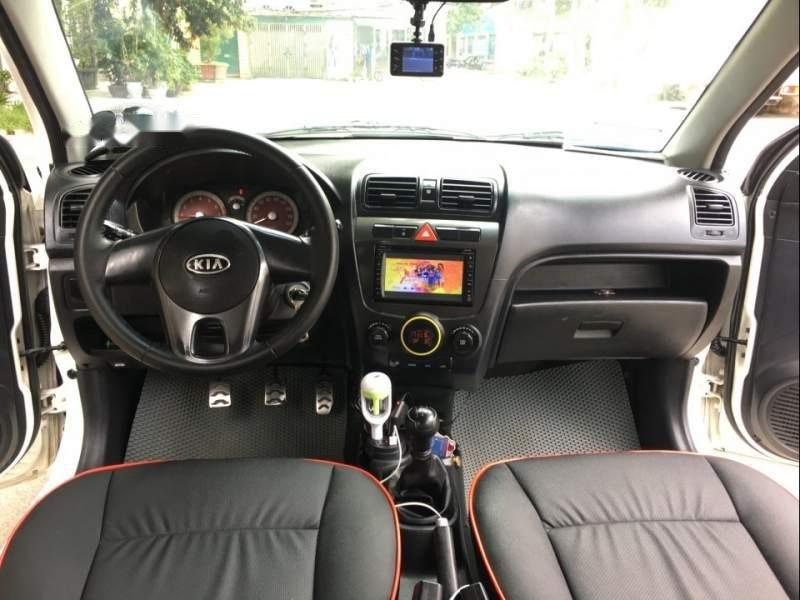 Bán Kia Morning Sport số sàn, màu trắng, nội thất nguyên bản theo xe như mới (6)