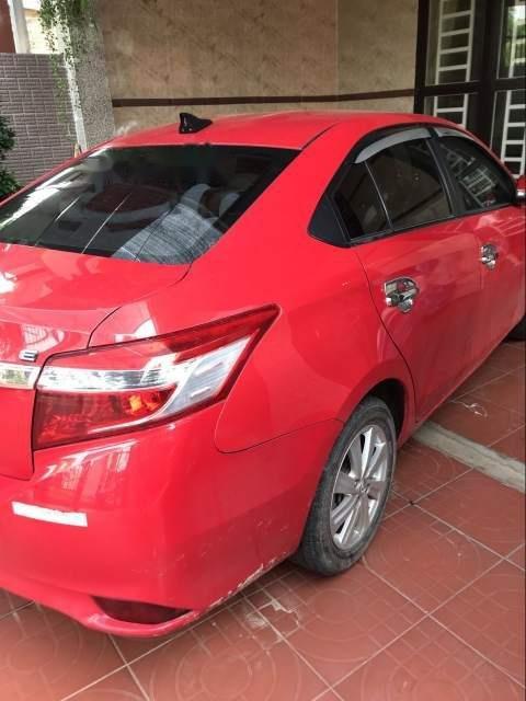 Cần bán Toyota Vios năm 2015, màu đỏ, xe nhập, giá tốt (1)
