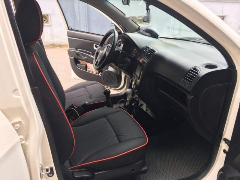 Bán Kia Morning Sport số sàn, màu trắng, nội thất nguyên bản theo xe như mới (5)