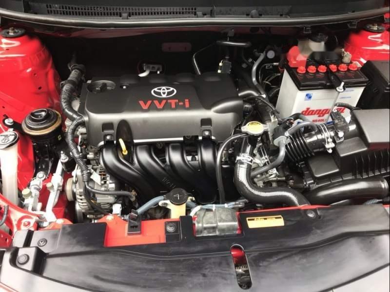 Cần bán Toyota Vios năm 2015, màu đỏ, xe nhập, giá tốt (2)