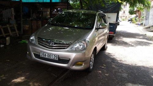 Chính chủ bán Toyota Innova 2.0 MT đời 2011, màu vàng cát (1)
