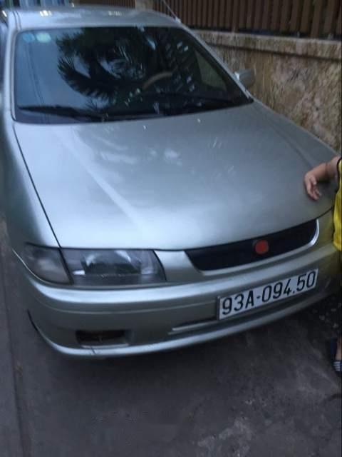 Cần bán lại xe Mazda 323 đời 2000, màu bạc (2)
