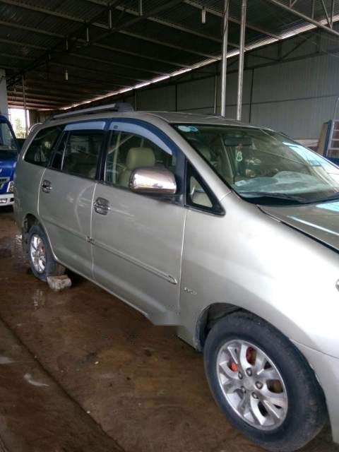 Cần bán gấp Toyota Innova MT đời 2008, màu bạc, nhập khẩu nguyên chiếc, giá 335tr (1)