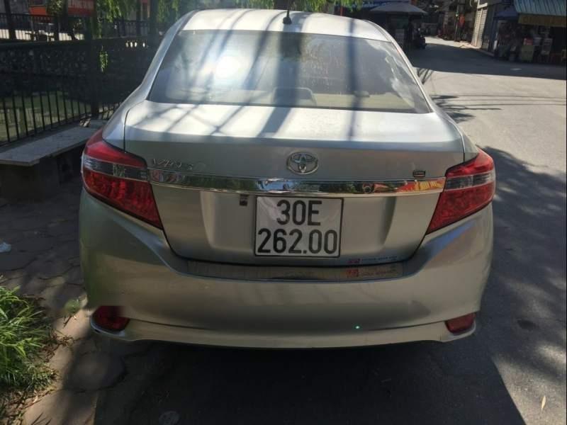 Chính chủ bán xe Toyota Vios năm sản xuất 2016, màu bạc (3)