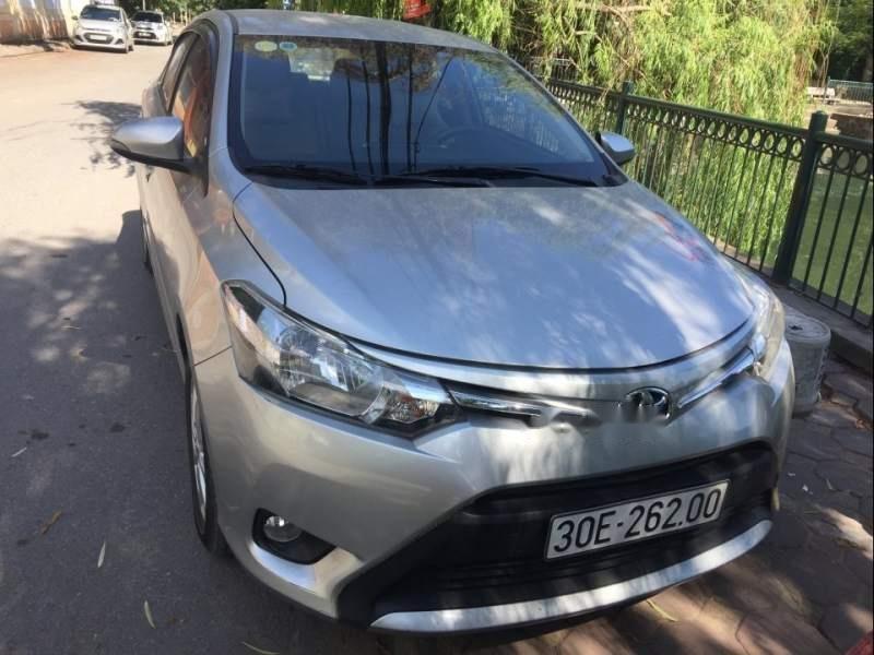 Chính chủ bán xe Toyota Vios năm sản xuất 2016, màu bạc (2)