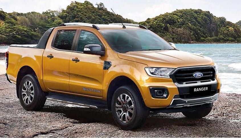 Ford Ranger 2019 KM khủng, vay NH đến 90%, 115tr giao xe tận nhà-0