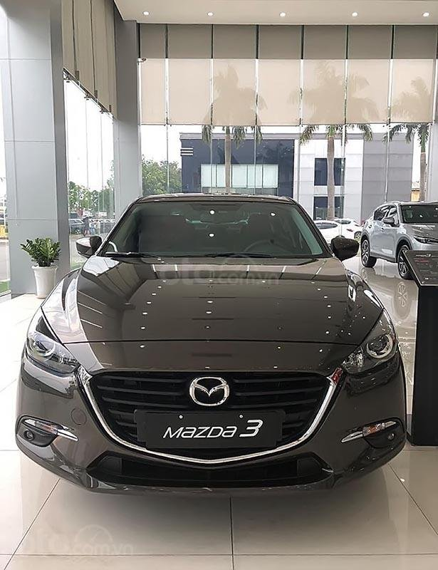 Bán Mazda 3 1.5AT sản xuất năm 2018, màu xám (1)