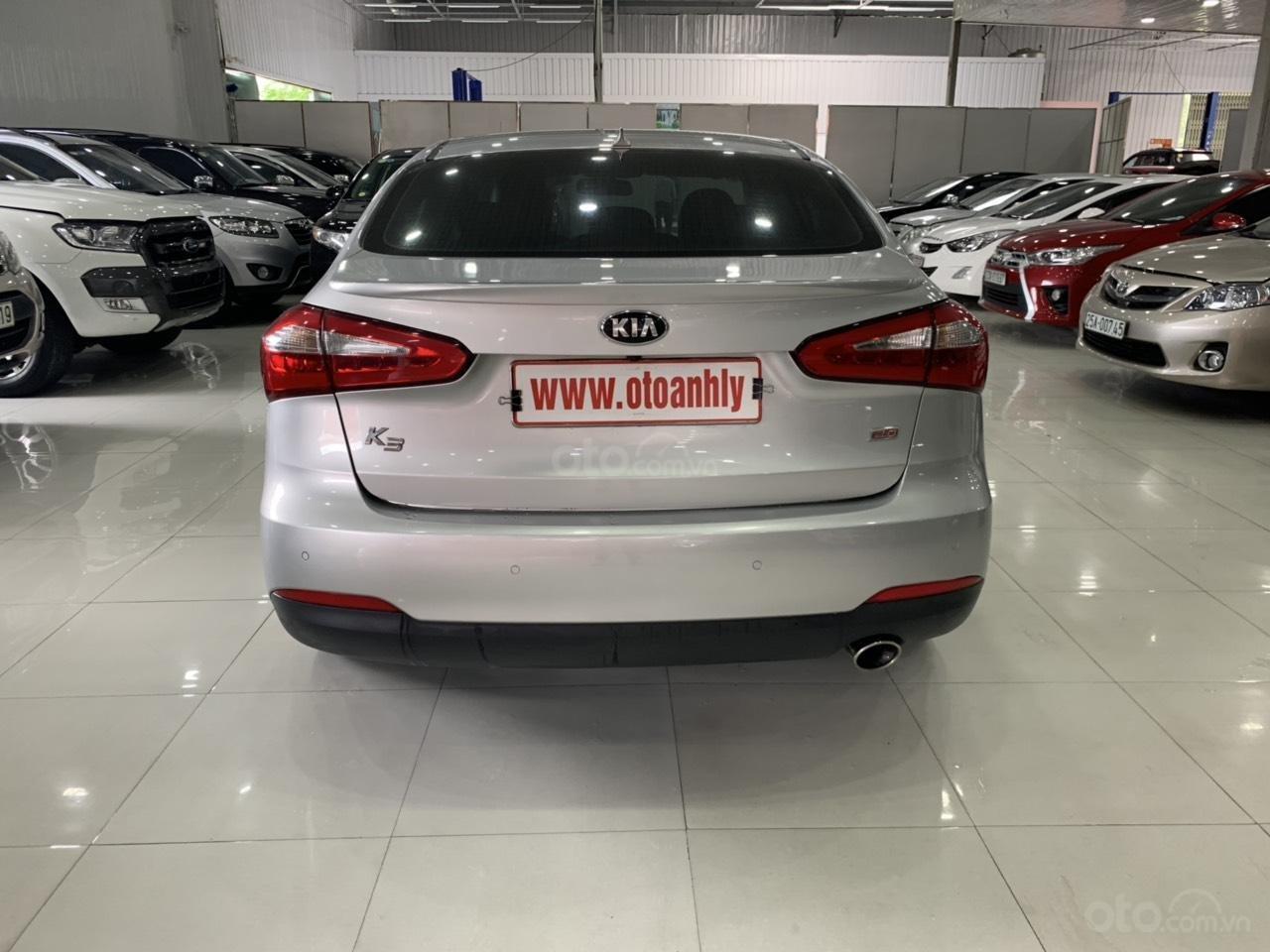 Cần bán Kia K3 đời 2015, màu bạc (11)