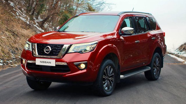 Giá xe Nissan Terra 2019