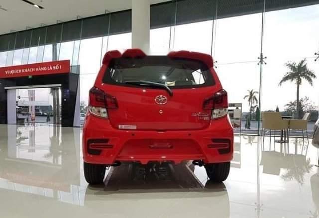 Bán ô tô Toyota Wigo sản xuất 2019, màu đỏ, xe nhập-1