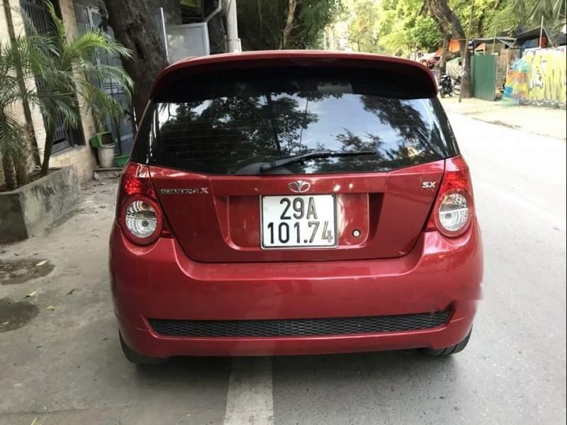 Cần bán lại xe Daewoo GentraX đời 2011, màu đỏ, xe nhập xe gia đình-1