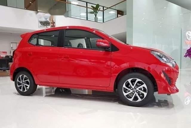 Bán ô tô Toyota Wigo sản xuất 2019, màu đỏ, xe nhập-2