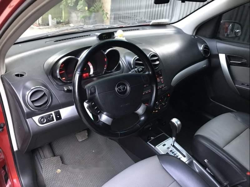 Cần bán lại xe Daewoo GentraX đời 2011, màu đỏ, xe nhập xe gia đình-4