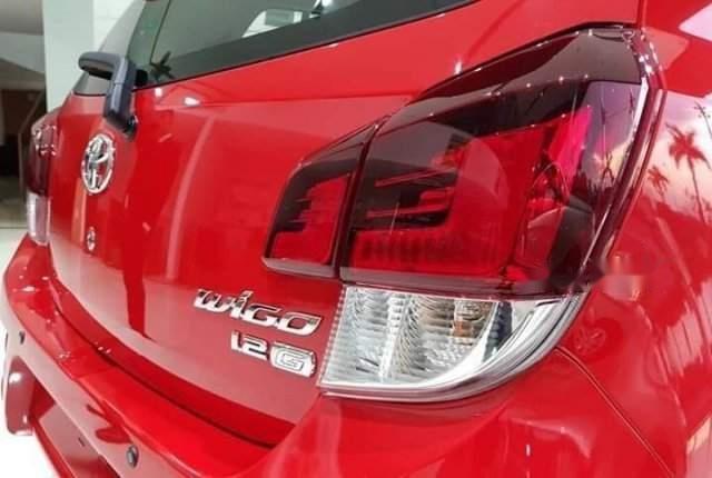 Bán ô tô Toyota Wigo sản xuất 2019, màu đỏ, xe nhập-5