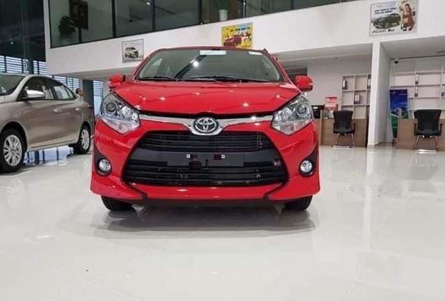 Bán ô tô Toyota Wigo sản xuất 2019, màu đỏ, xe nhập-0