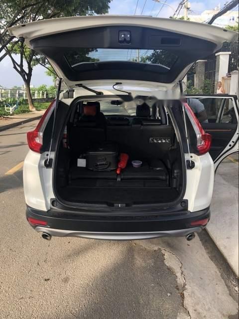 Bán Honda CR V năm sản xuất 2018, màu trắng, nhập khẩu xe gia đình-2