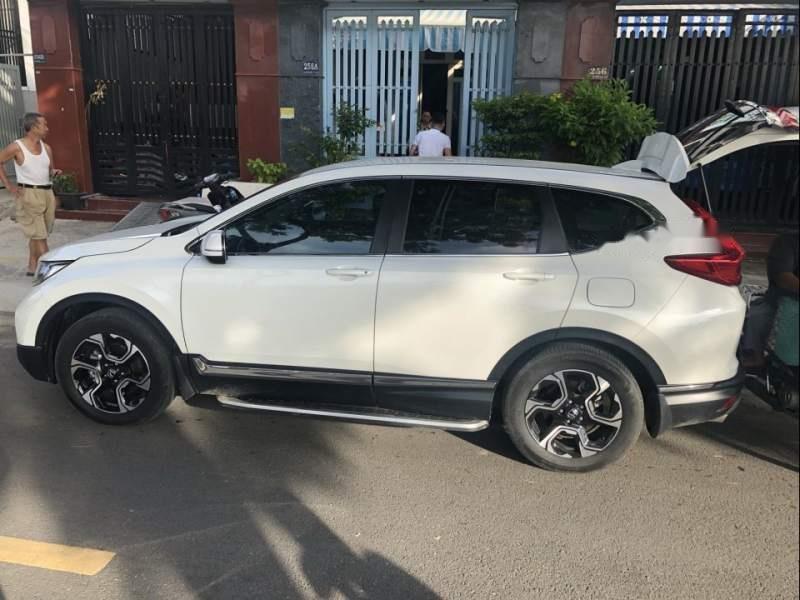 Bán Honda CR V năm sản xuất 2018, màu trắng, nhập khẩu xe gia đình-0