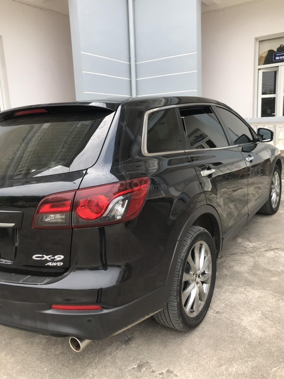 Bán Mazda CX9 màu đen, nhập khẩu Nhật Bản, sản xuất 2015, đăng ký 2016 tên tư nhân (5)