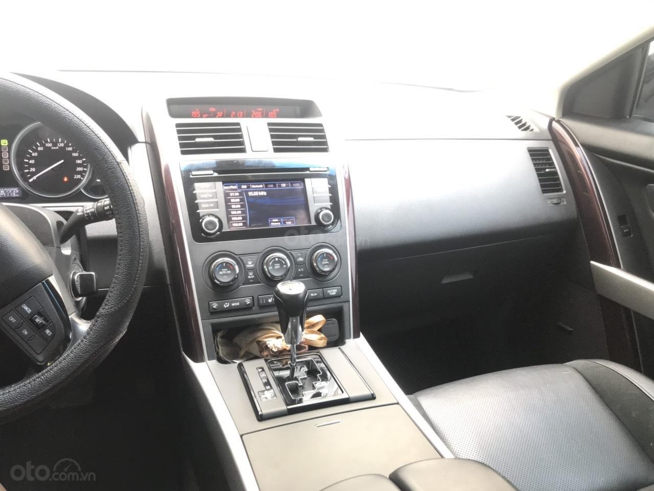 Bán Mazda CX9 màu đen, nhập khẩu Nhật Bản, sản xuất 2015, đăng ký 2016 tên tư nhân (12)