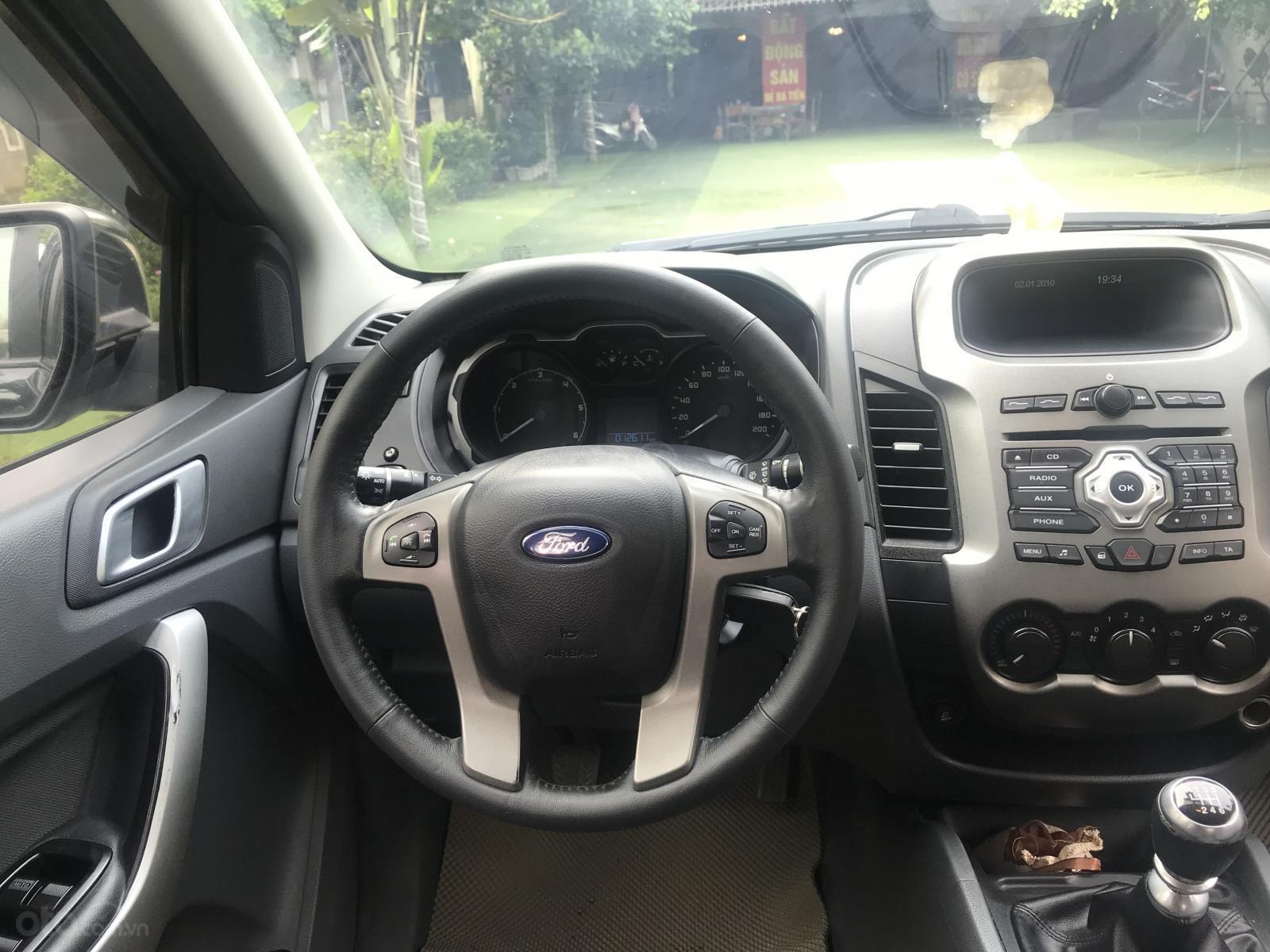 Bán Ford Range XLT 2.2L, hai cầu, số sàn, sản xuất 2013, Đk 2014-7