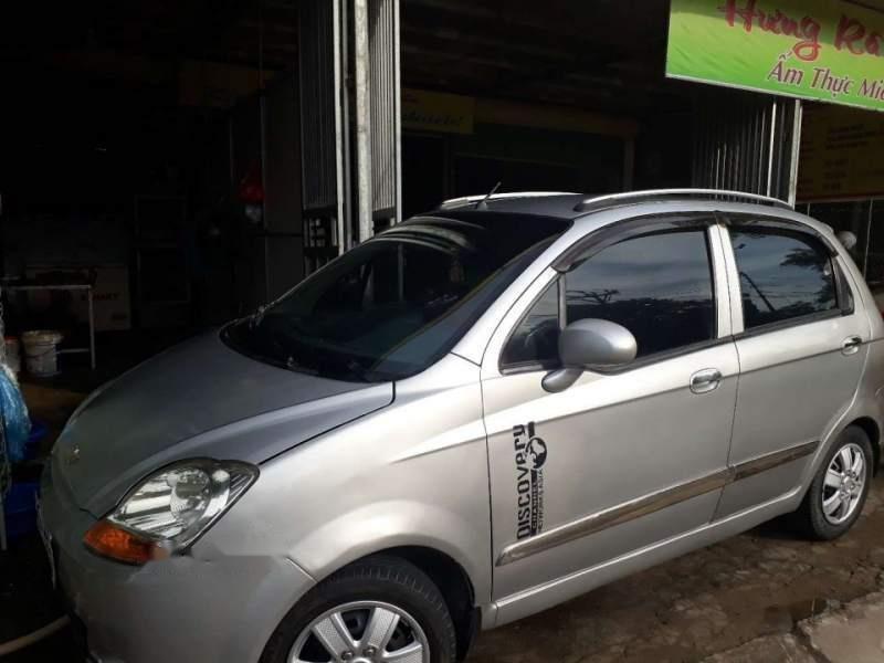 Bán Chevrolet Spark 2009, màu bạc, xe nhập (4)