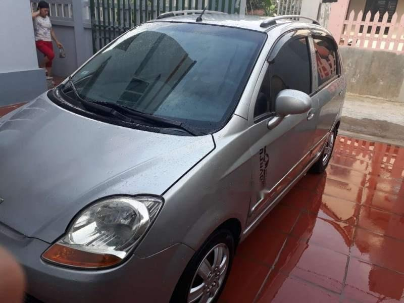 Bán Chevrolet Spark 2009, màu bạc, xe nhập (1)
