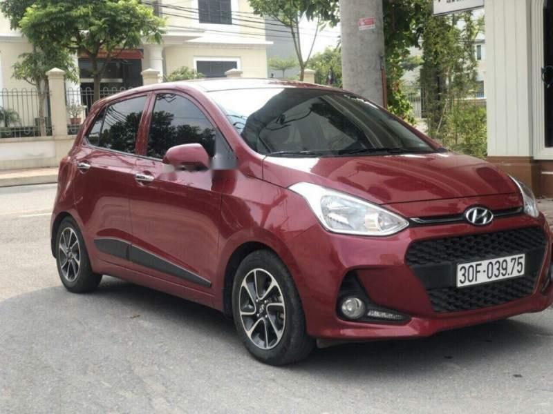 Bán gấp Hyundai Grand i10 đời 2016, màu đỏ (1)