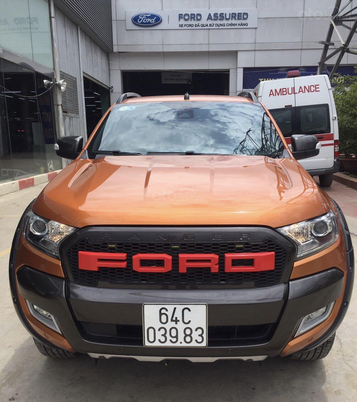 Ranger Wildtrak 3.2L 2016, xe bán tại hãng Western Ford có bảo hành-0