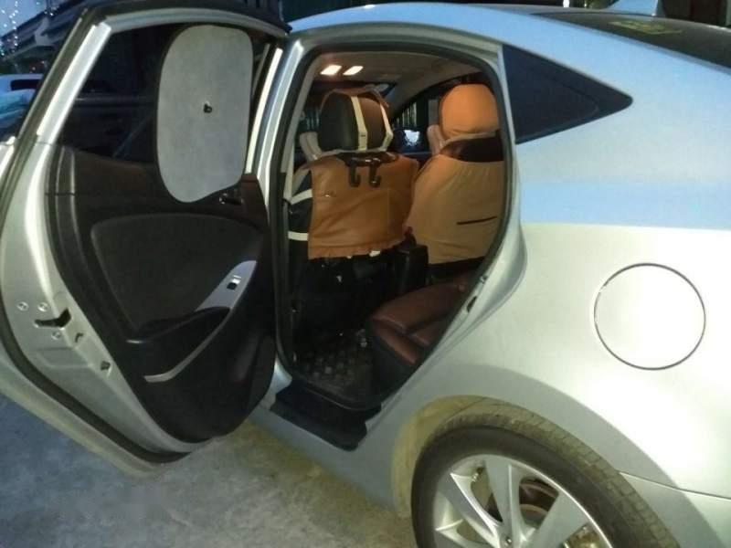Bán Hyundai Accent đời 2012, màu bạc, xe nhập-2