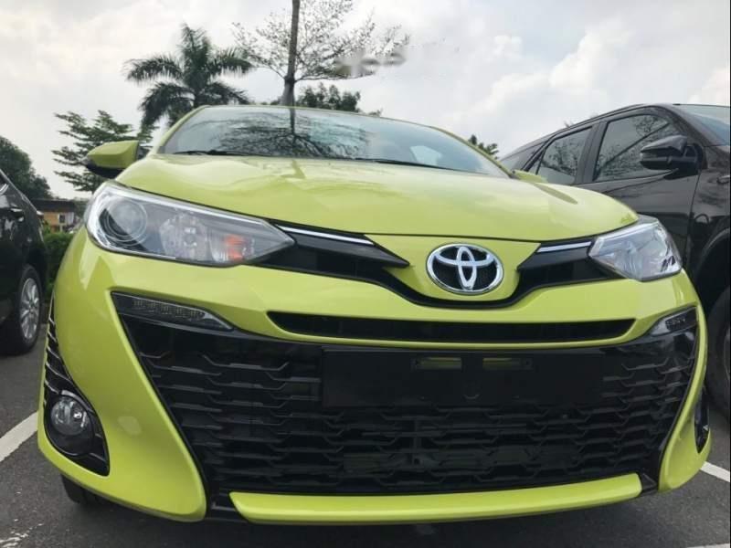 Bán Toyota Yaris năm 2019, màu xanh lục, nhập khẩu-2