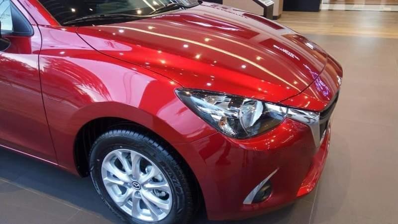 Bán Mazda 2 Deluxe năm sản xuất 2019, màu đỏ, nhập khẩu (2)