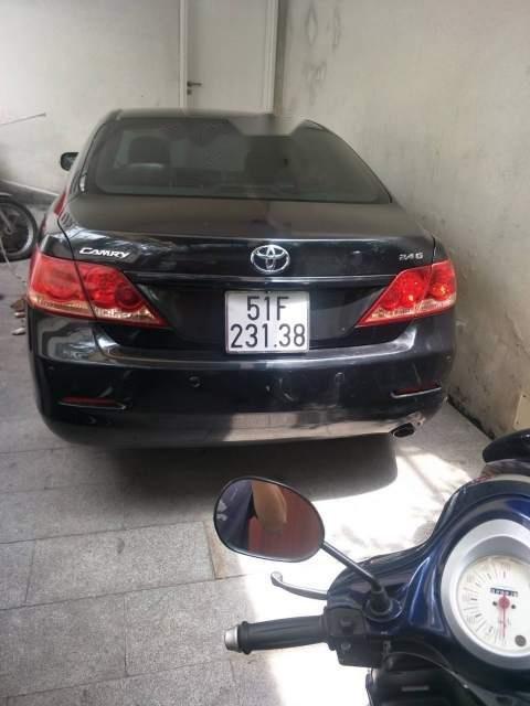 Cần bán gấp Toyota Camry 2.4G 2008, màu đen-1