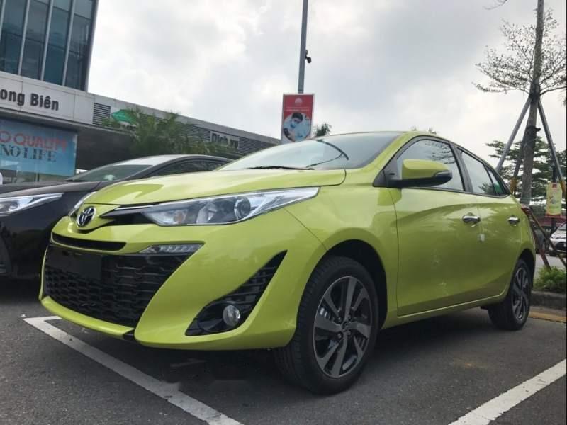Bán Toyota Yaris năm 2019, màu xanh lục, nhập khẩu-3