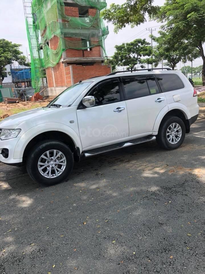 Gia đình cần bán xe Mitsubishi Pajero Sport 2016, số sàn, máy dầu-1