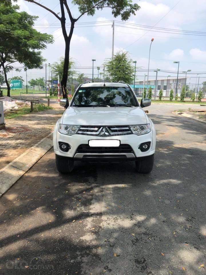 Gia đình cần bán xe Mitsubishi Pajero Sport 2016, số sàn, máy dầu (1)