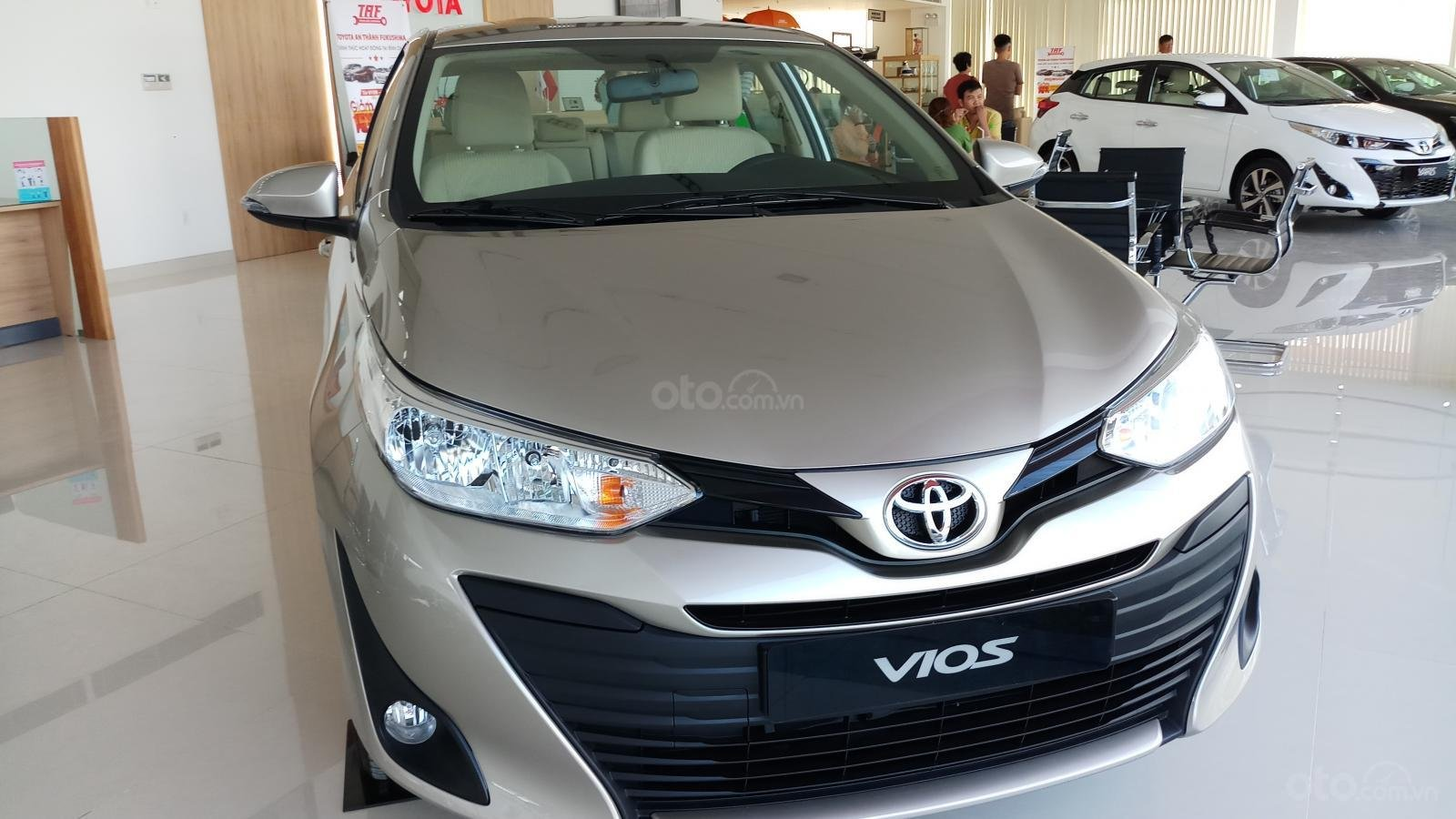 Bán Toyota Vios 1.5E CVT đời 2019, mới 100%, khuyến mãi khủng giao ngay-0