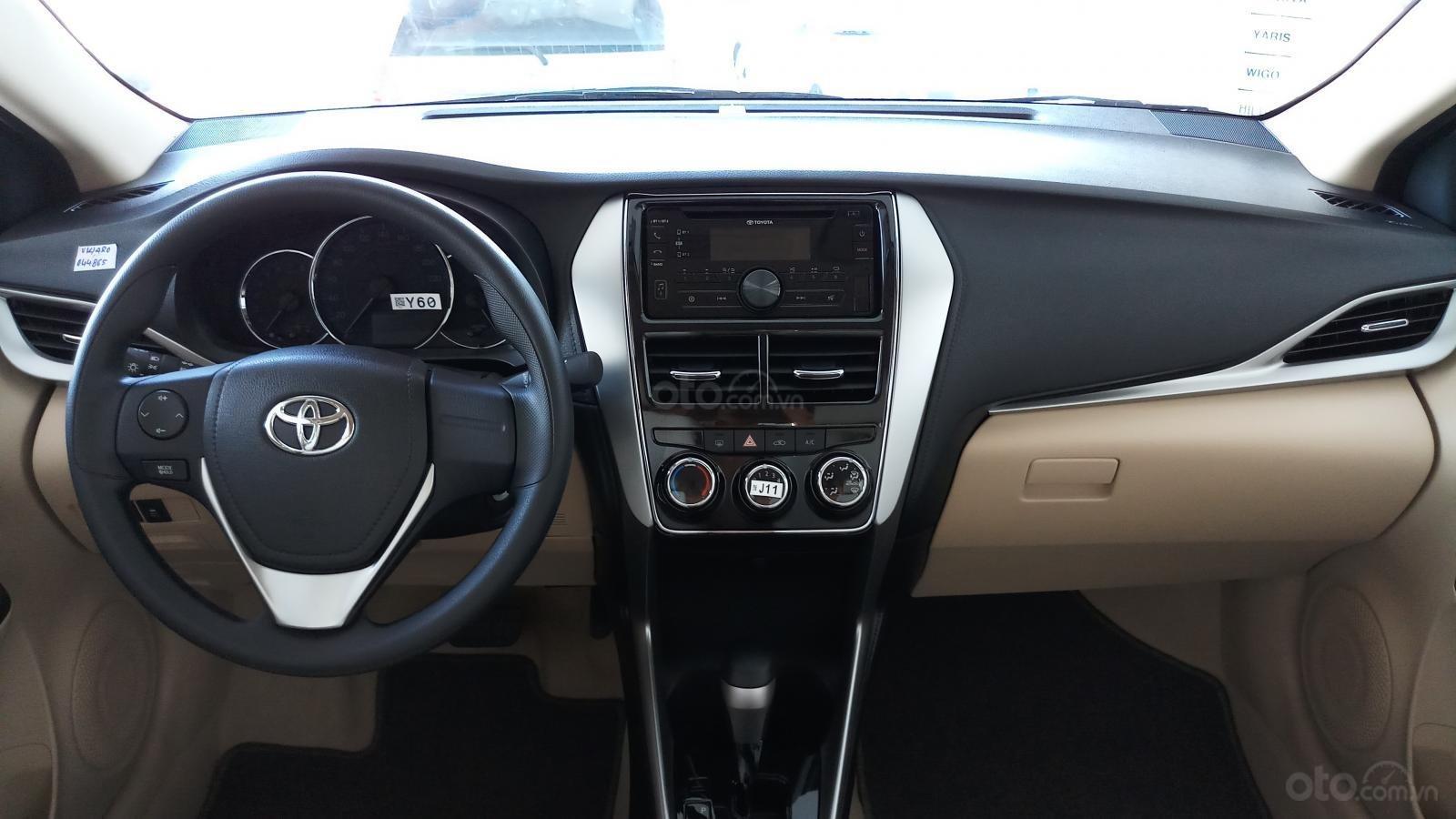 Bán Toyota Vios 1.5E CVT đời 2019, mới 100%, khuyến mãi khủng giao ngay-3