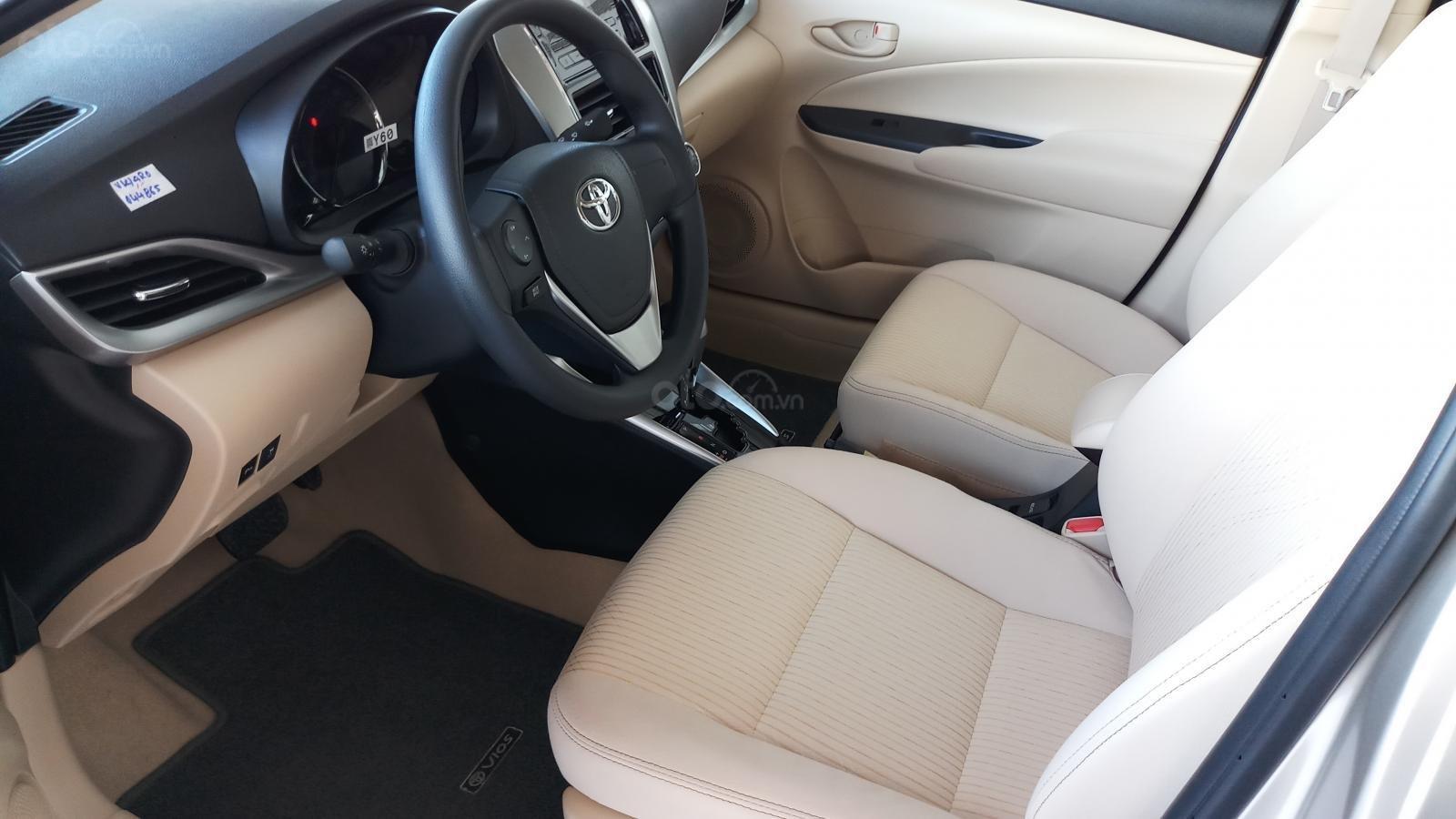 Bán Toyota Vios 1.5E CVT đời 2019, mới 100%, khuyến mãi khủng giao ngay-7