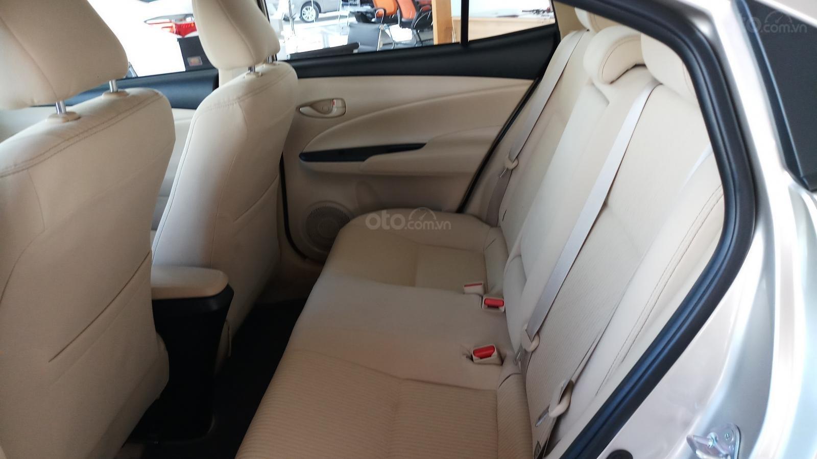Bán Toyota Vios 1.5E CVT đời 2019, mới 100%, khuyến mãi khủng giao ngay-8