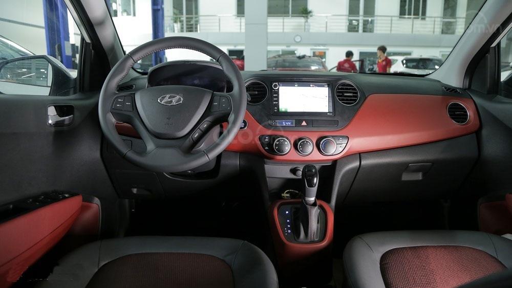 Giảm 10 triệu tiền mặt - chỉ 101 triệu - Hyundai Grand i10 Hatchback 1.2MT 2020, trả góp 85% (10)
