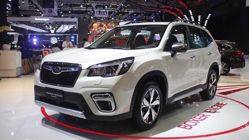 Giá lăn bánh xe Subaru Forester nhập Thái chuẩn bị về Việt Nam là bao nhiêu?.