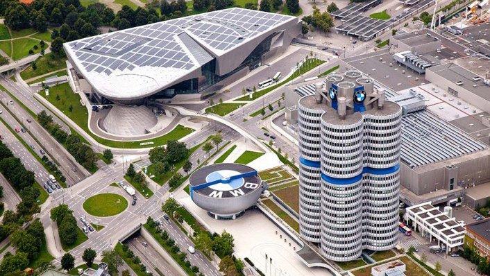 Trụ sở của BMW tại Bavaria, Đức...