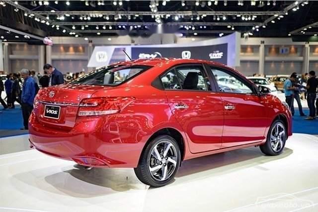 Bán ô tô Toyota Vios sản xuất 2019, giá 606tr (2)