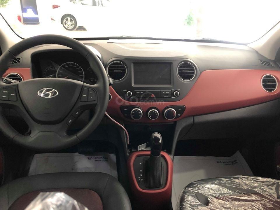 Hyundai Cầu Diễn - Bán Hyundai Grand I10 AT 1.2, đủ các màu, tặng 10 triệu - nhiều ưu đãi - LH: 0964898932 (5)