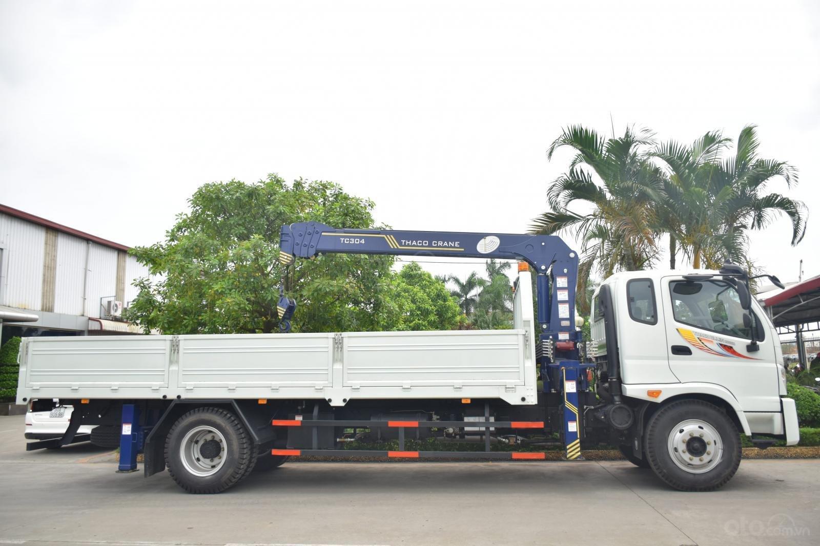 Bán Thaco OLLIN 900B tải cẩu 3 tấn, màu trắng (2)