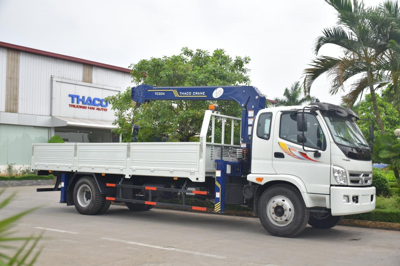 Bán Thaco OLLIN 900B tải cẩu 3 tấn, màu trắng (4)
