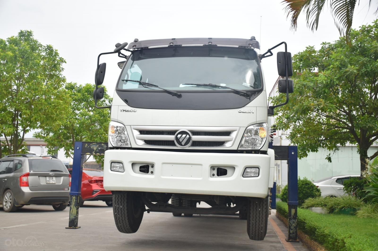 Bán Thaco OLLIN 900B tải cẩu 3 tấn, màu trắng (5)